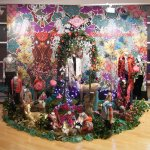 Oilily 01 2007 Aankleding 'magical garden' voor nieuwe wintercollectie van Oilily, i.o.v Wink
