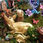 Oilily 05 2007 Aankleding 'magical garden' voor nieuwe wintercollectie van Oilily, i.o.v Wink
