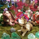 Oilily 03 2007 Aankleding 'magical garden' voor nieuwe wintercollectie van Oilily, i.o.v Wink