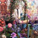 Oilily 04 2007 Aankleding 'magical garden' voor nieuwe wintercollectie van Oilily, i.o.v Wink