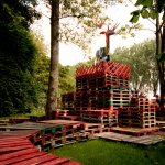 Mysteryland 07 Aankleding festivalterrein Mysteryland in Hoofddorp