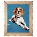 Hond Schildering particulier 0.50 x 0.70 meter