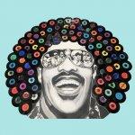Stevie Wonder Schildering DJ school 2.50 x 2.50 meter