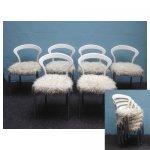 <p>6 witte stapel stoelen</p> <p>€ 20,00 p/s VERHUUR</p>