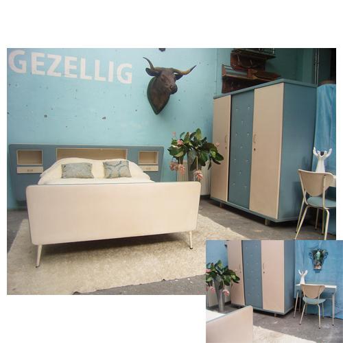 jaren 50 slaapkamer € 200,00 VERHUUR (incl. bekleding) - € 500,00 ...