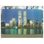 new york skyline <p>€ 50,00 VERHUUR</p> <p>4 panelen / enkel 67 x 239 - totaal 268 x 239 / hout</p>